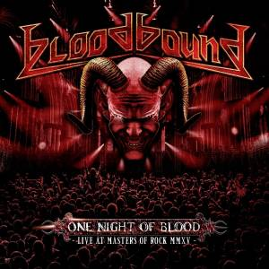 Cover - Bloodbound: One Night Of Blood - Live At Masters Of Rock MMXV