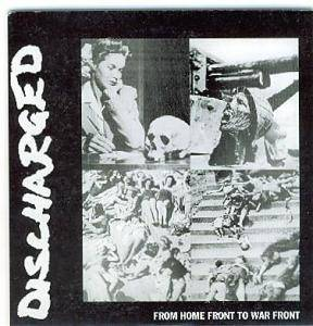 Discharged - From Home Front To War Front - Cover