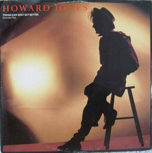 Howard Jones: Things Can Only Get Better - Cover