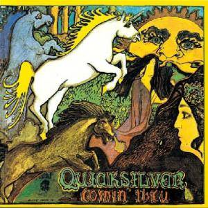 Cover - Quicksilver Messenger Service: Comin' Thru