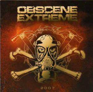 Obscene Extreme 2007 - Cover