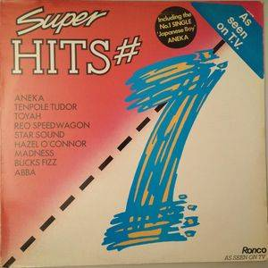 Super Hits # 1 - Cover