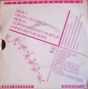 Notsensibles - Death To Disco