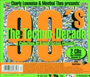 Cover - DJ Misjah & DJ Tim: Charly Lownoise & Menta Theo Presents: 90's The Techno Decade & The Very Best Of Hard-Trance X-Plosion