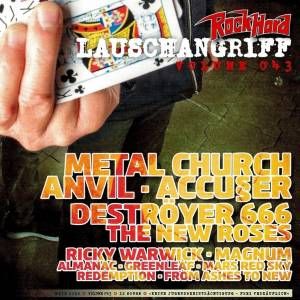 Cover - Almanac: Rock Hard - Lauschangriff Vol. 043