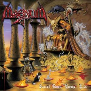 "Magnum: Sacred Blood ""Divine"" Lies - Cover"