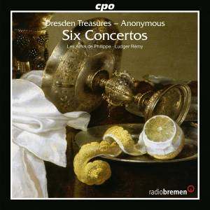 Cover -  Anonymus: Dresden Treasures: Six Concertos