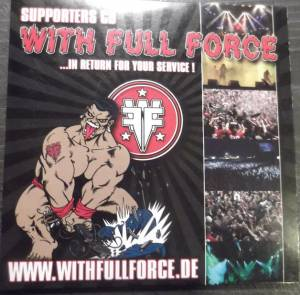 With Full Force Supporters CD - Cover