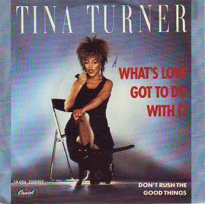 Tina Turner: What's Love Got To Do With It - Cover