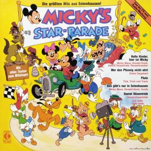 Micky's Star-Parade - Cover