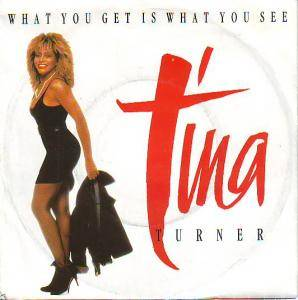 Tina Turner: What You Get Is What You See - Cover