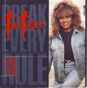 Tina Turner: Break Every Rule - Cover