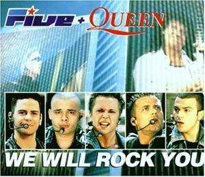 Five & Queen: We Will Rock You - Cover