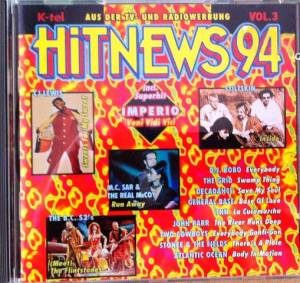 Cover - B.C. 52's, The: Hit News 94 Vol. 3