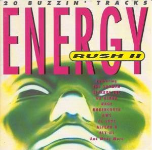 Cover - Aly-Us: Energy Rush II - 20 Buzzin' Tracks