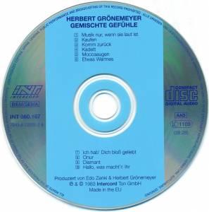 Herbert Grönemeyer: Gemischte Gefühle (CD) - Bild 4