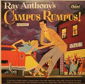 Cover - Ray Anthony: Ray Anthony's Campus Rumpus