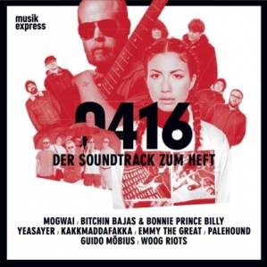Musikexpress 0416 - Der Soundtrack Zum Heft - Cover