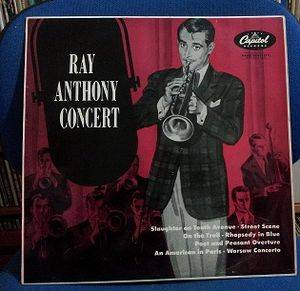 Cover - Ray Anthony: Ray Anthony Concert