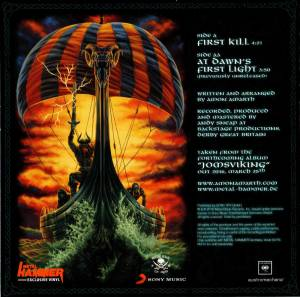 "Amon Amarth: First Kill (Promo-7"") - Bild 2"