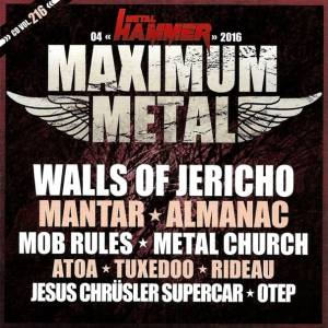 Metal Hammer - Maximum Metal Vol. 216 (CD) - Bild 1