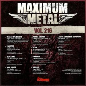 Metal Hammer - Maximum Metal Vol. 216 (CD) - Bild 2
