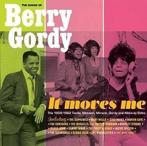 Cover - Satintones, The: Songs Of Berry Gordy - It Moves Me, The