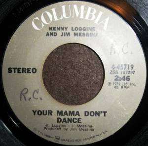 Cover - Loggins & Messina: Your Mama Don't Dance