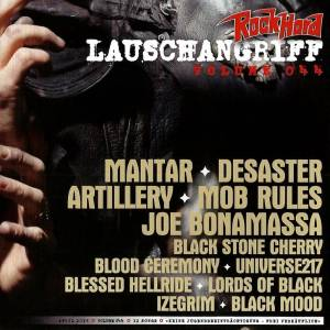 Rock Hard - Lauschangriff Vol. 044 (CD) - Bild 1