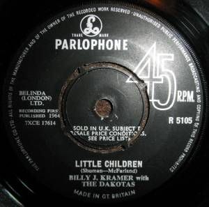 Cover - Billy J. Kramer & The Dakotas: Little Children