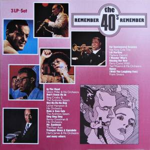 Remember The 40's - Those Fabulous Forties - Cover