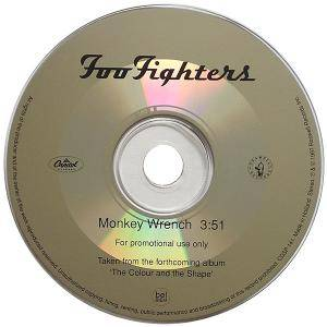 Foo Fighters: Monkey Wrench - Cover