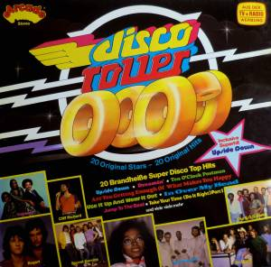 Disco Roller - 20 Brandheiße Super Disco Top Hits - Cover