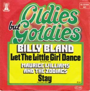 Cover - Billy Bland: Let The Little Girl Dance / Stay