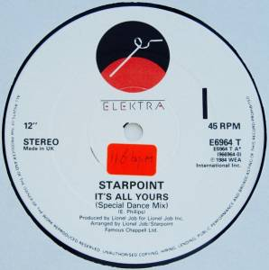 Cover - Starpoint: It's All Yours