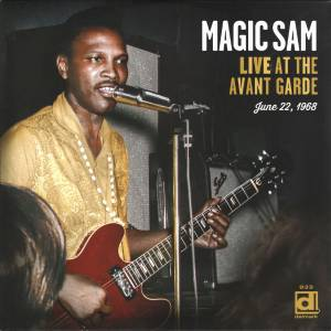 Cover - Magic Sam: Live At The Avant Garde