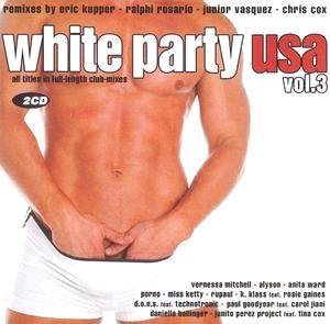 White Party USA Vol. 3 - Cover