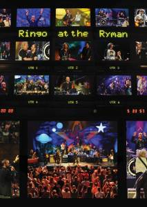 Cover - Ringo Starr And His All Starr Band: Ringo At The Ryman