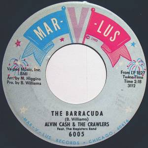 Cover - Alvin Cash & The Crawlers: Barracuda, The