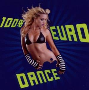 Cover - E-Rotic: 100% Eurodance