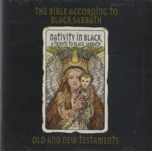 Bible According To Black Sabbath (Old And New Testament) - Nativity In Black, The - Cover