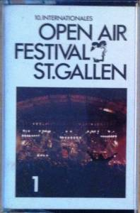 Cover - Country Ramblers: 10. Internationales Open Air Festival St. Gallen