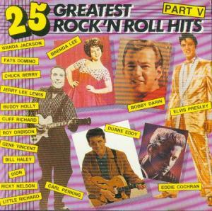 25 Greatest Rock 'n Roll Hits Part V - Cover