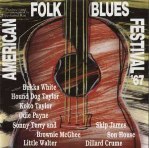 Cover - Hound Dog Taylor: American Folk Blues Festival '67
