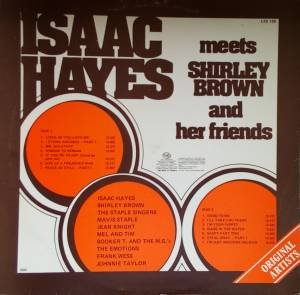 Isaac Hayes Meets Shirley Brown And Her Friends (LP) - Bild 2