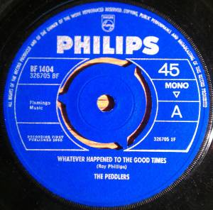 Cover - Peddlers, The: Whatever Happened To The Good Times