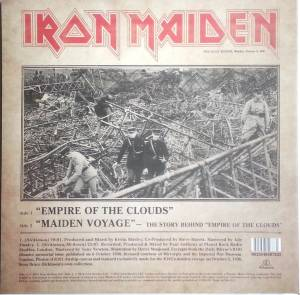 "Iron Maiden: Empire Of The Clouds (PIC-12"") - Bild 2"