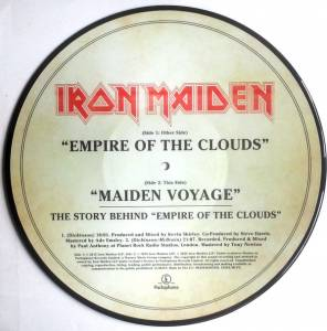 "Iron Maiden: Empire Of The Clouds (PIC-12"") - Bild 5"