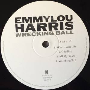 Emmylou Harris: Wrecking Ball (3-LP) - Bild 3