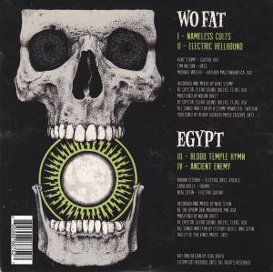 Wo Fat / Egypt: Cyclopean Riffs (Split-Mini-CD / EP) - Bild 2